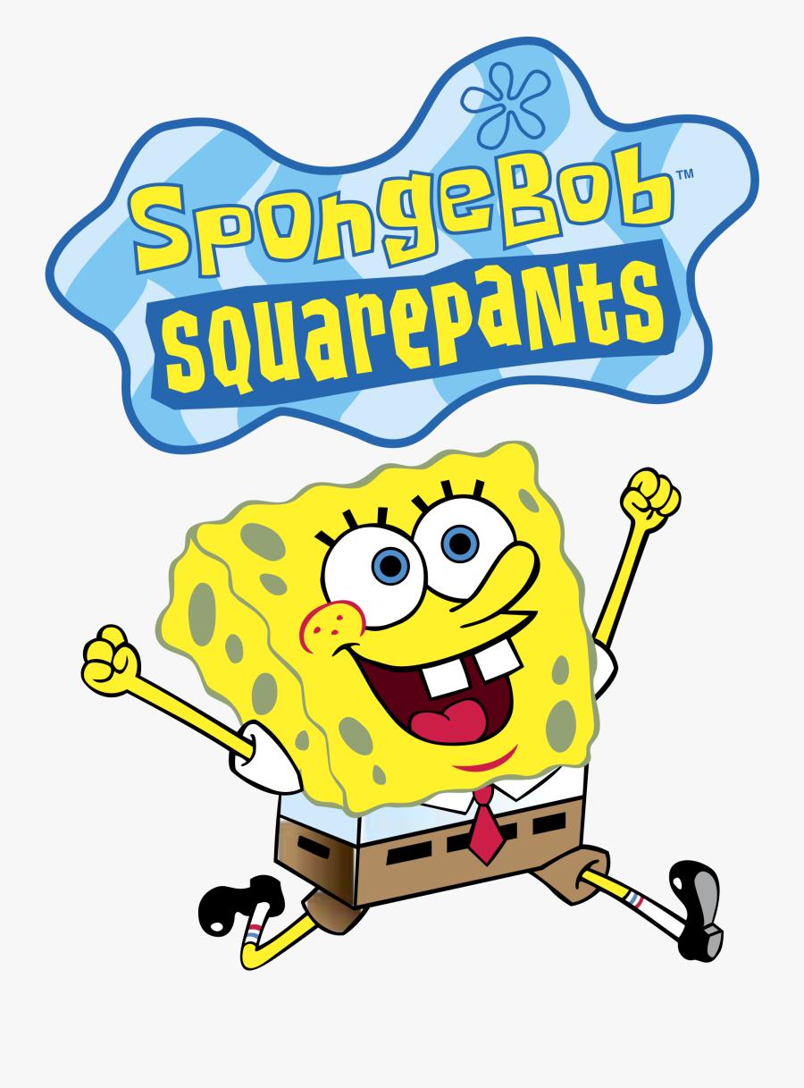Logo Spongebob, Transparent Clipart