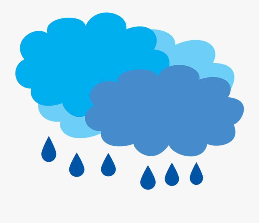 Cartoon Rain Cloud 9, Buy Clip Art - Transparent Background Weather Stormy, Transparent Clipart