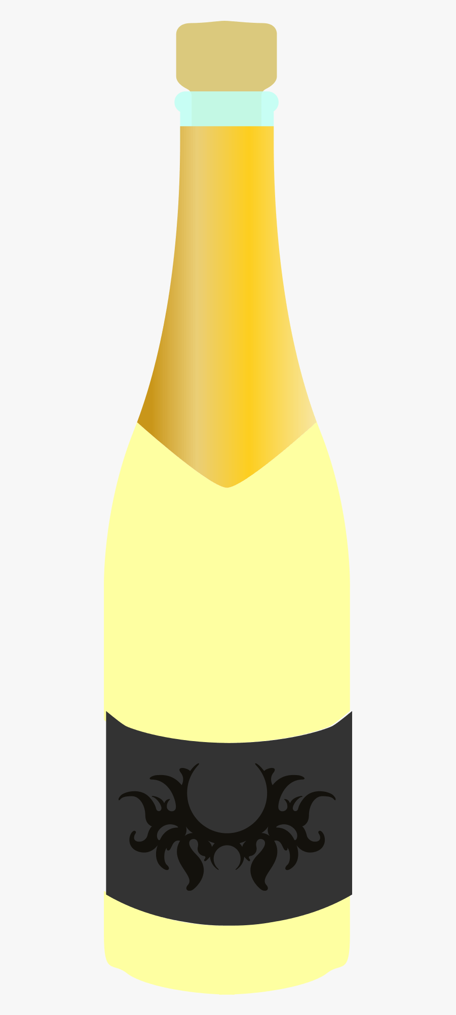 Flaša Šampanského Png, Transparent Clipart