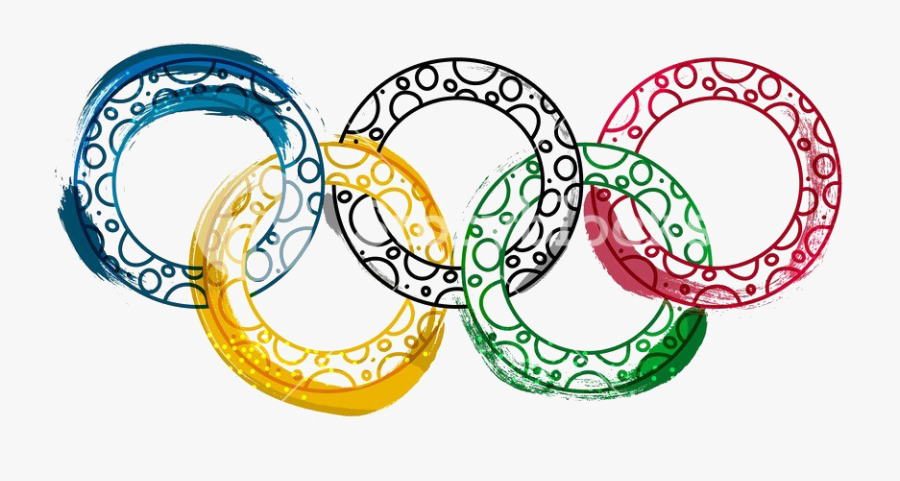 Olympic Rings Download Transparent Png Image - Summer Olympics Flyer, Transparent Clipart