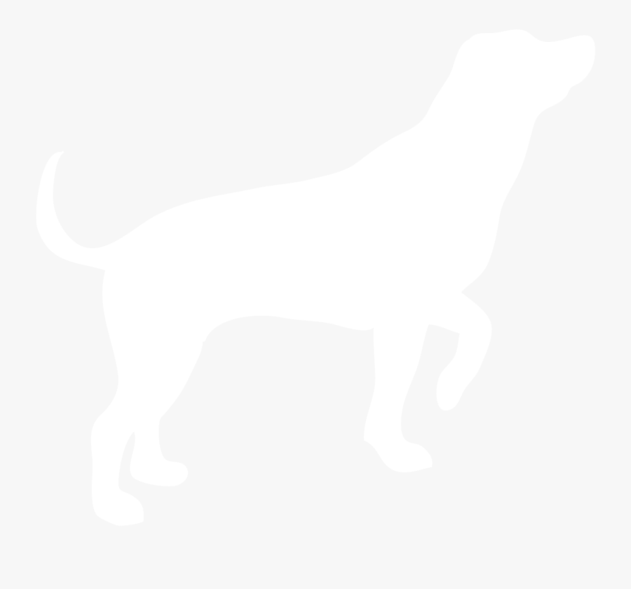 Foxhound,sporting Group,ancient Dog Breeds,beagle,animal - White Dog Silhouette Png, Transparent Clipart
