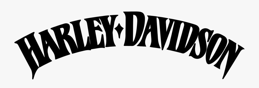 Harley Davidson Motor Co Logo, Transparent Clipart