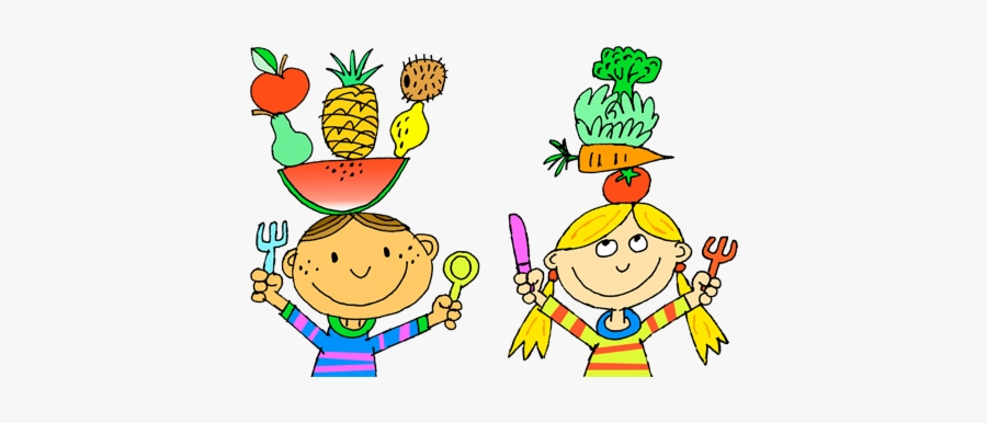 Healthy Food Eat Drawing Clipart Diet Transparent Png - Eating Healthy Foods Drawing, Transparent Clipart