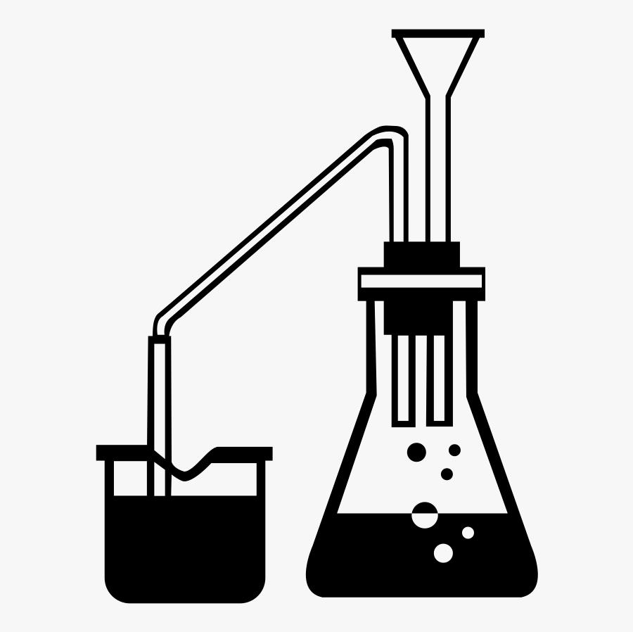 Chemistry Clip Art Vector - Chemistry White Clip Art, Transparent Clipart