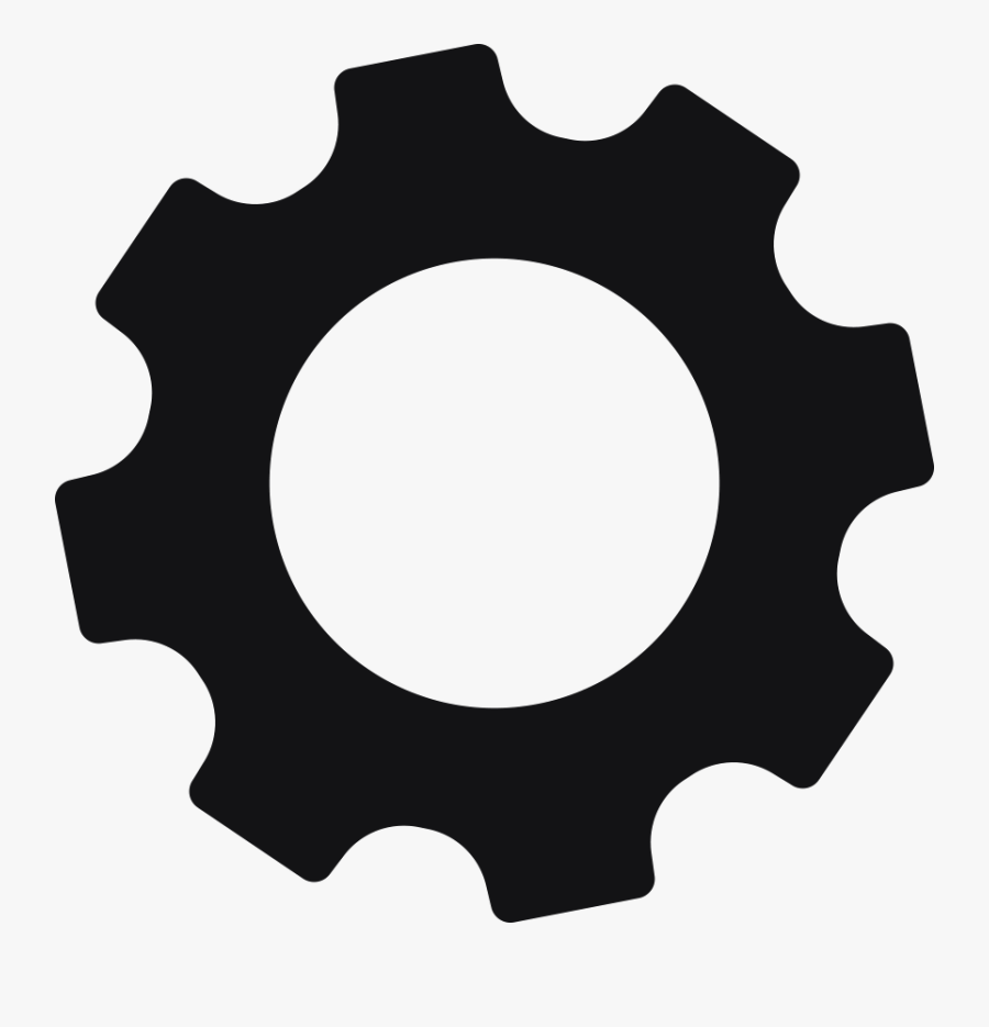 Gear Clip Art - Red Gear Icon Png, Transparent Clipart