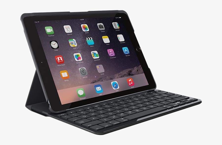 Ipad Clipart Ipad Air - Ipad 2017 Keyboard Case, Transparent Clipart