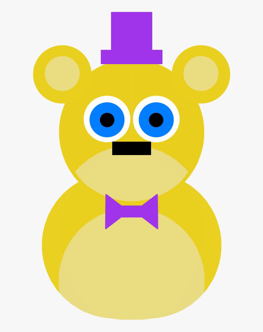 More Fnaf Art I Posted On Tumblr - Teddy Bear, Transparent Clipart