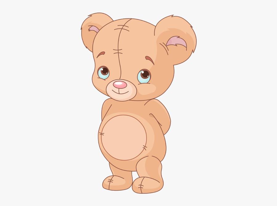 Cute Cartoon Baby Bears, Transparent Clipart