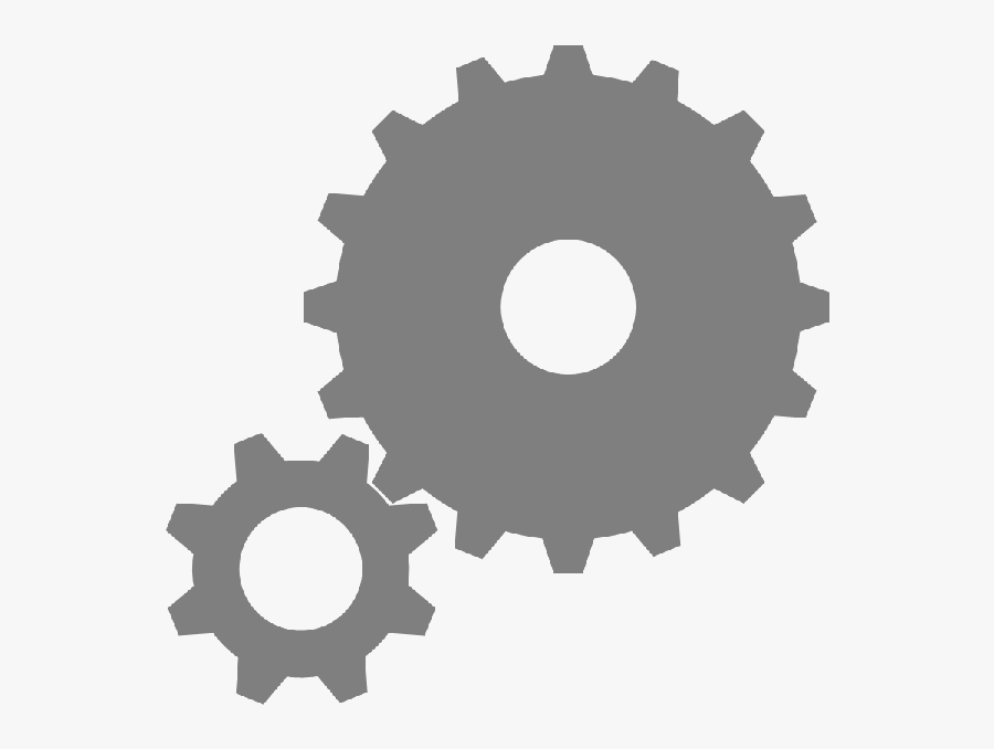 Clip Art What Is The Difference - Big Gear Small Gear, Transparent Clipart