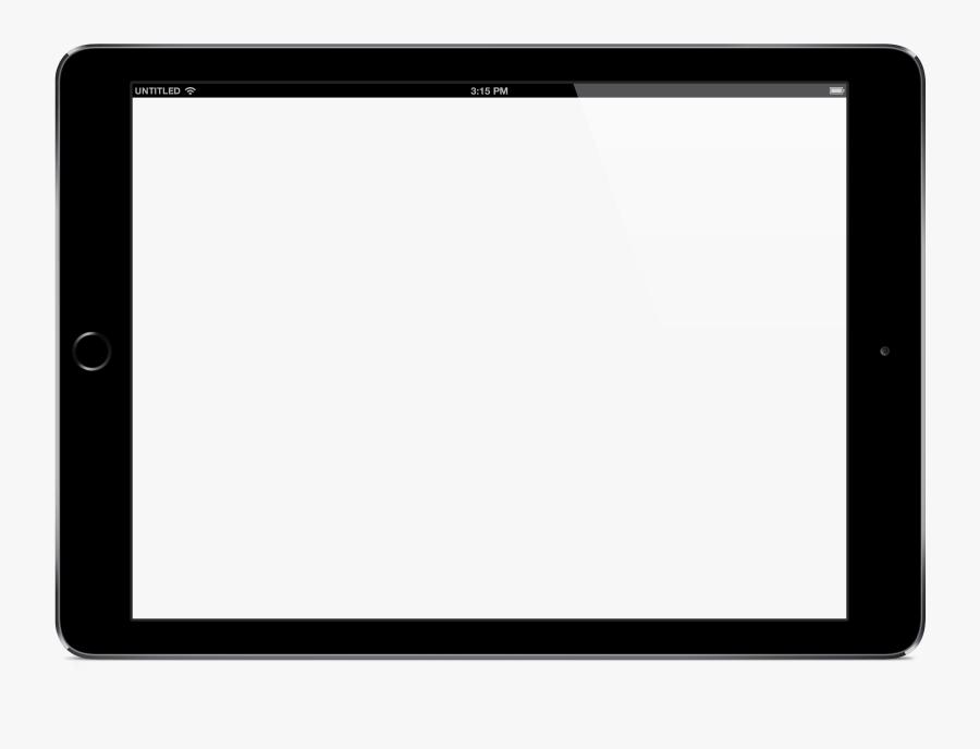 Ipad Clipart Ipad Air - Ipad Air 2 Mockup Png, Transparent Clipart