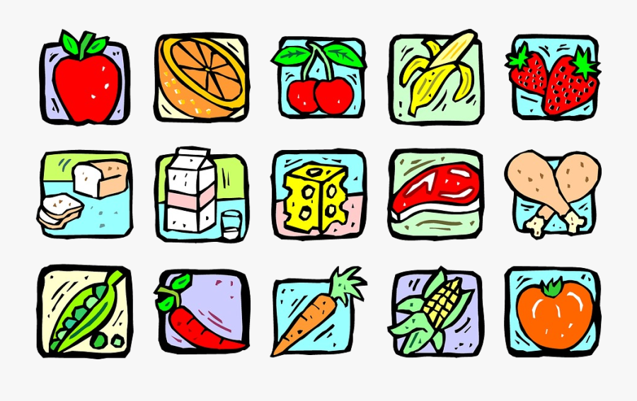 Healthy Food Foods Clipart Transparent Png - World Health Day 2019 Theme, Transparent Clipart