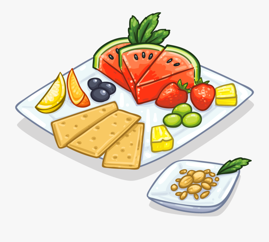 Clip Art Healthy Food Clip Art - Clip Art Healthy Snack, Transparent Clipart