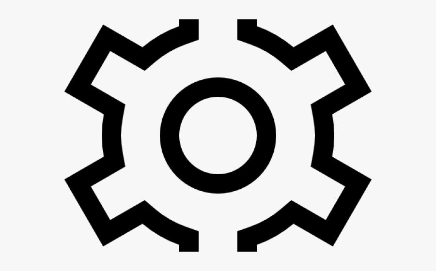 Gears Clipart Gear Outline - Business Process Automation Logo, Transparent Clipart