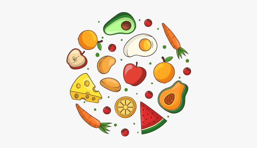 Healthy Food Clipart Free Vector Art Stock Graphics - Healthy Food Vector Png, Transparent Clipart