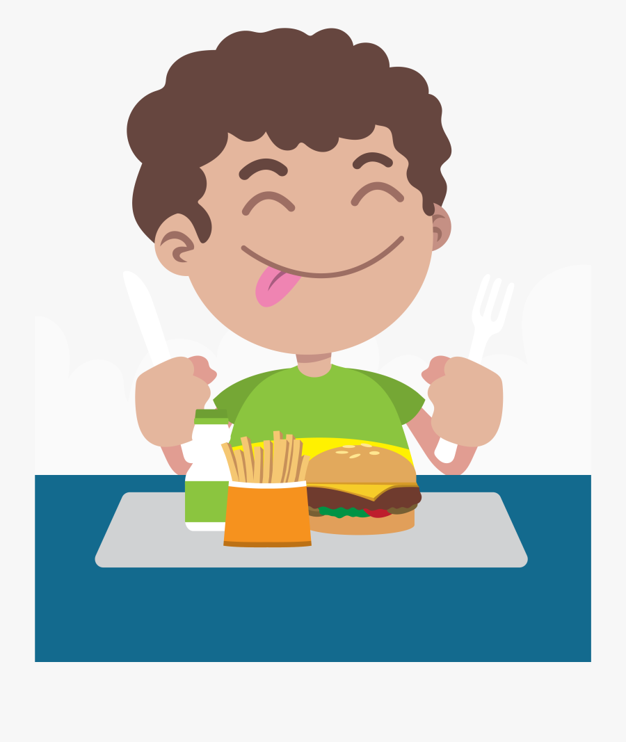 Child Food Health Menu Cantina - Eating Food Clipart Png, Transparent Clipart