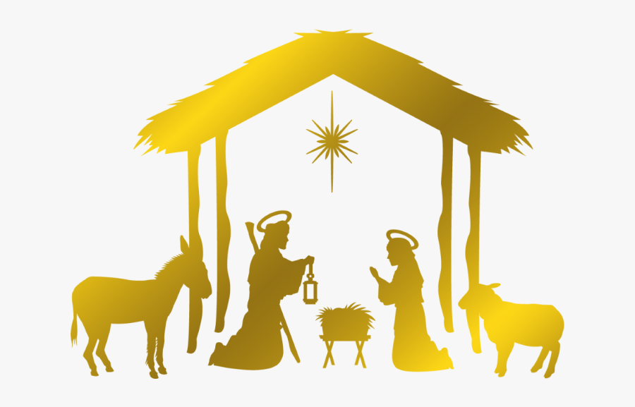 Christmas Drawing On Jesus, Transparent Clipart