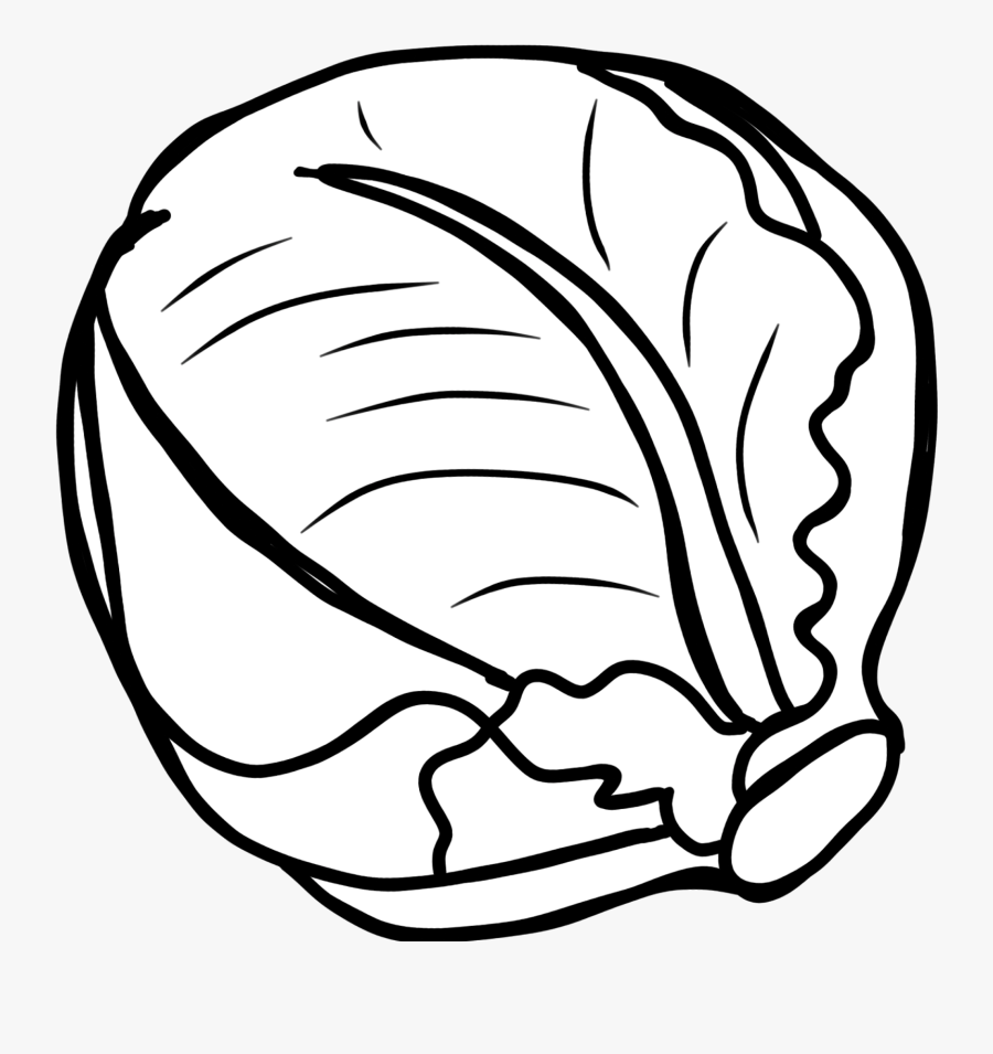 Vegetables Clipart Black And White, Transparent Clipart