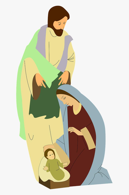 Nativity Scene Clip Art, Transparent Clipart