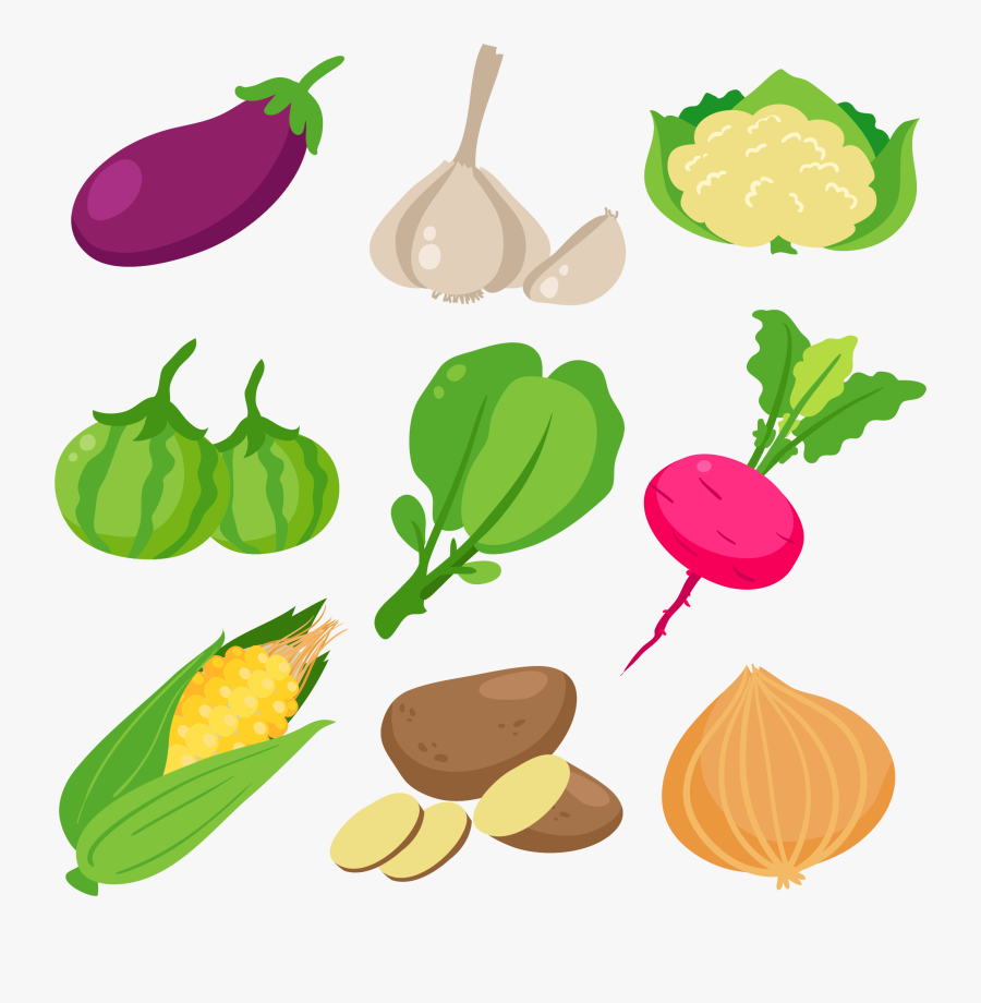 Drawing Plate Healthy Eating Transparent Png Clipart - Graphic Vegetables, Transparent Clipart