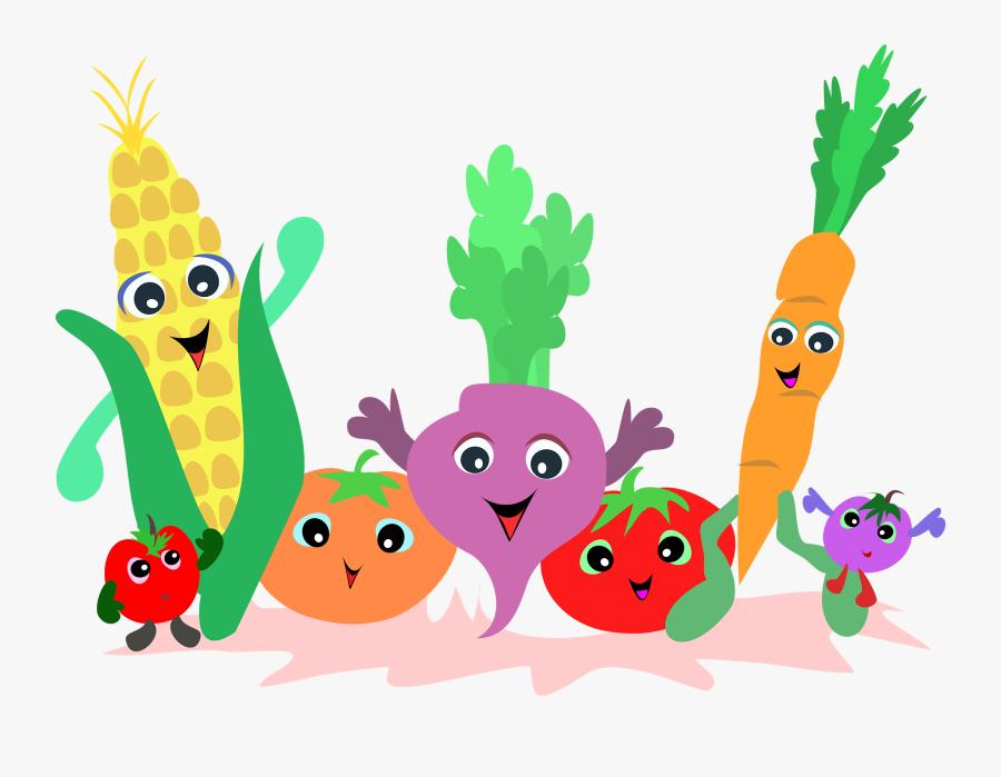 Nutrition Clip Art Clipartlook - Fruit And Vegetables Clipart, Transparent Clipart
