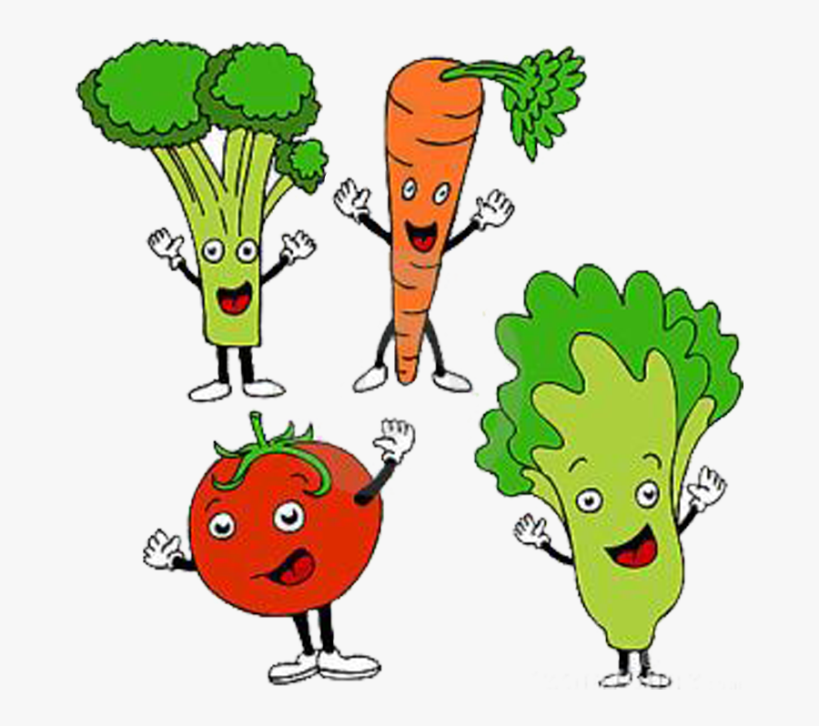 Health Diet Cartoon Clip - Healthy Food Items Cartoon, Transparent Clipart