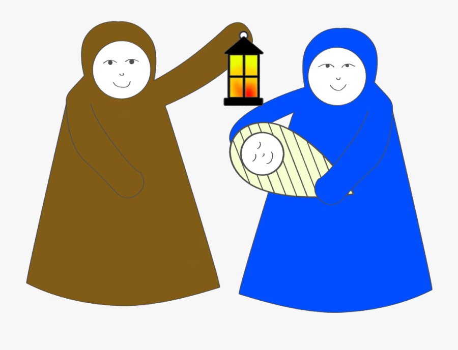 Cone Nativity Scene - Christmas Day, Transparent Clipart