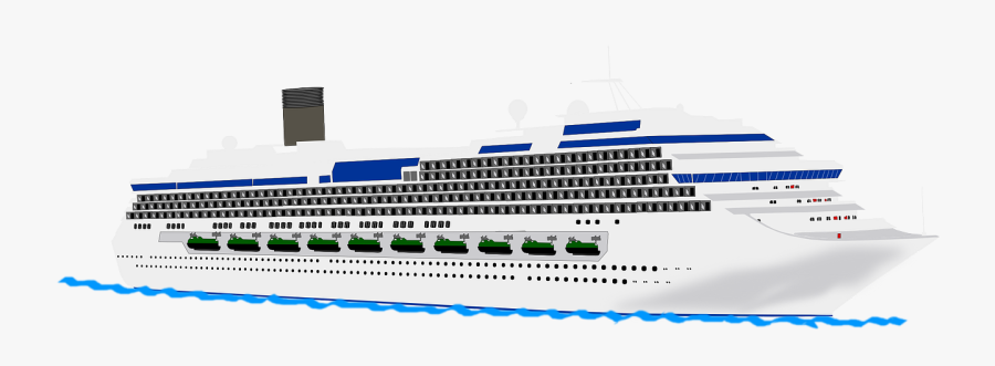 Cruise Ship Free To Use Clipart - Transparent Cruise Ship, Transparent Clipart