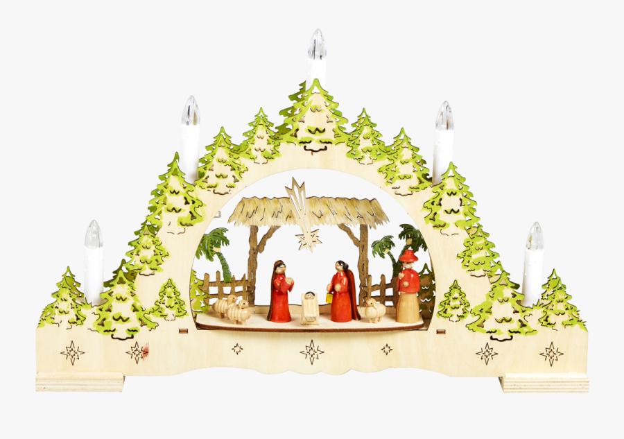 Nativity Scene, Transparent Clipart