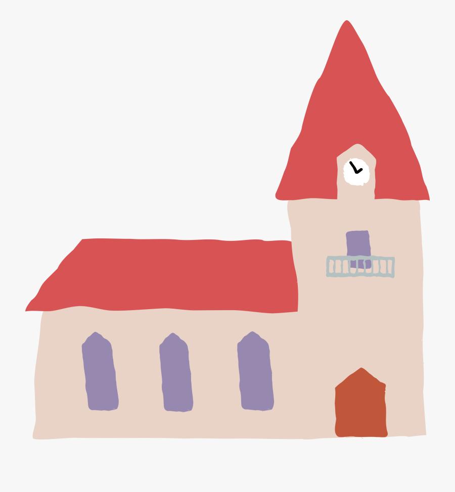 Crooked Church 1 Clip Art Free