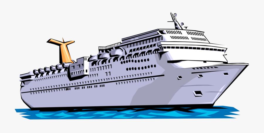 Cruise Ship Vector Png - Cruise Ship Clip Art, Transparent Clipart