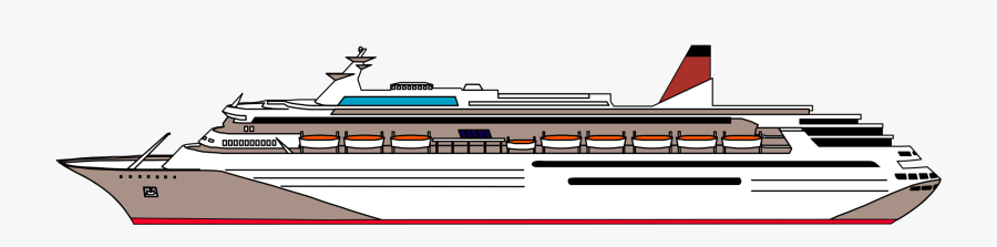 Ship Transparent Cruise Boat Png, Transparent Clipart