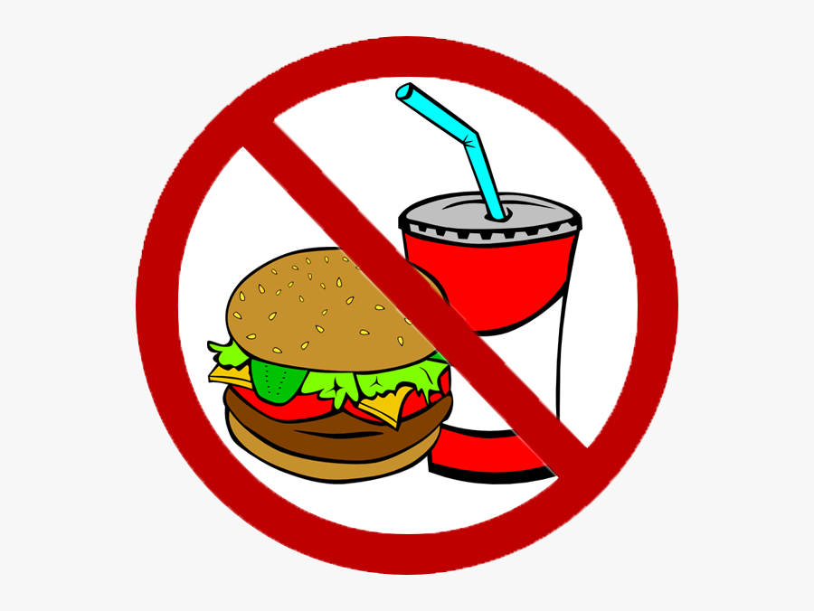 Collection Of Avoid - Say No To Junk Food Poster, Transparent Clipart