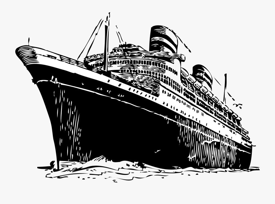 Big Ship Clip Art, Transparent Clipart