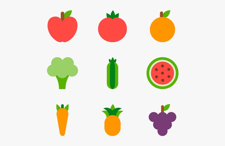 Transparent Fruits And Vegetables Clipart Png, Transparent Clipart