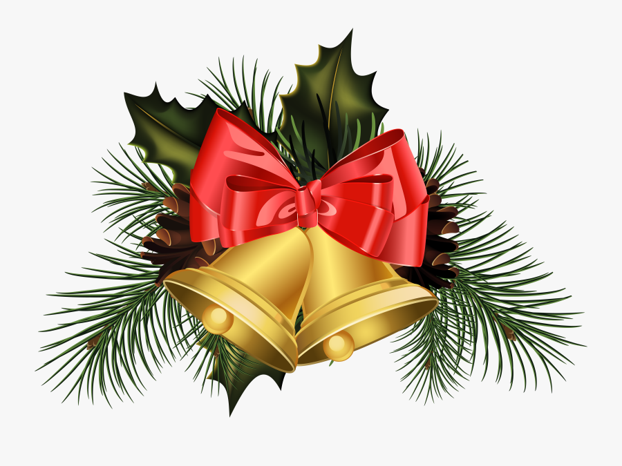 Family Clipart Christmas - Transparent Pictures Of Christmas Bells, Transparent Clipart
