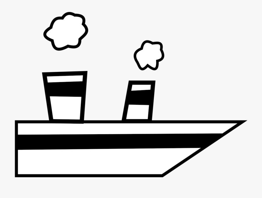 Line Art,angle,area - Naval Ship Clip Art, Transparent Clipart