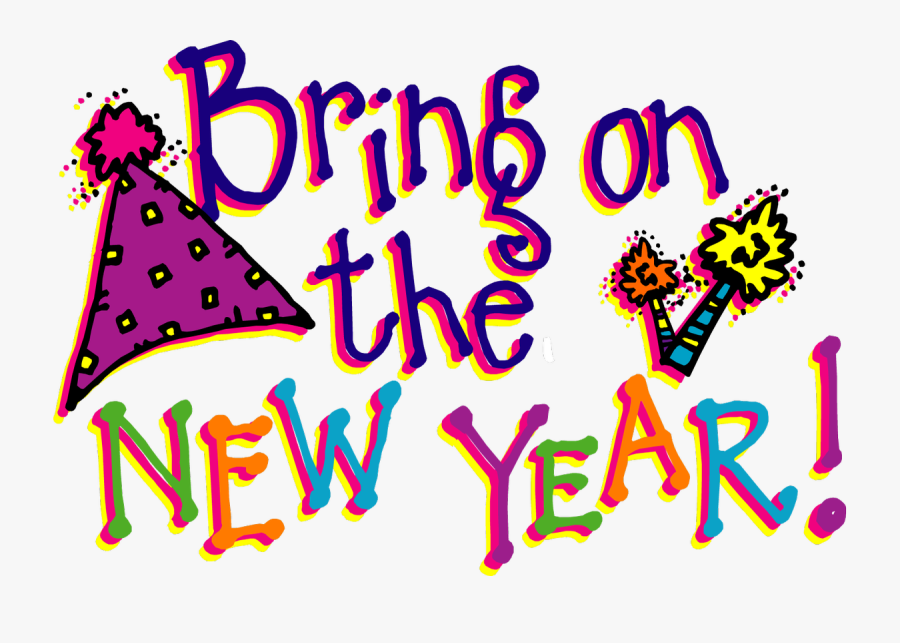 Happy New Year Clipart, Transparent Clipart