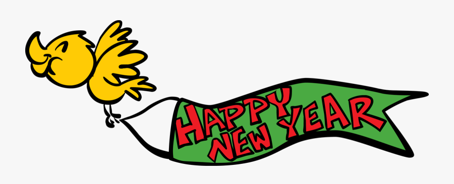 Happy New Year Free Clip Art 1196433 High Definition - Animated Happy New Year Clipart 2019, Transparent Clipart