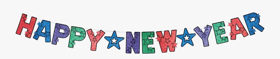 Happy New Year Transparent Whatsapp Sticker Images - Happy New Year Banner Clipart, Transparent Clipart