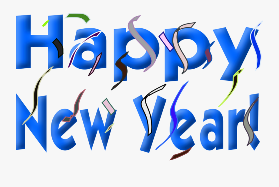 Happy New Year - New Year Greetings 2019, Transparent Clipart