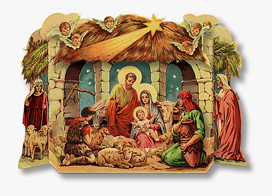 Christmas Crib Images Png, Transparent Clipart