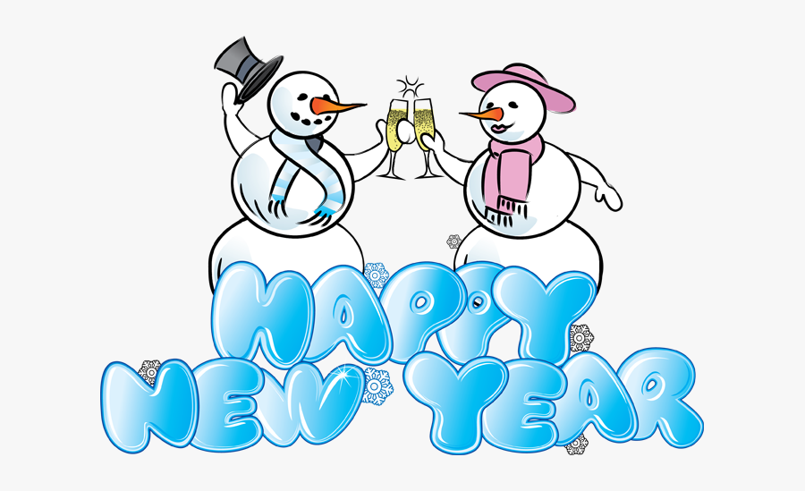 Happy New Year Clipart 6 Mybloggingdiary - Writing Style Of Happy New Year, Transparent Clipart
