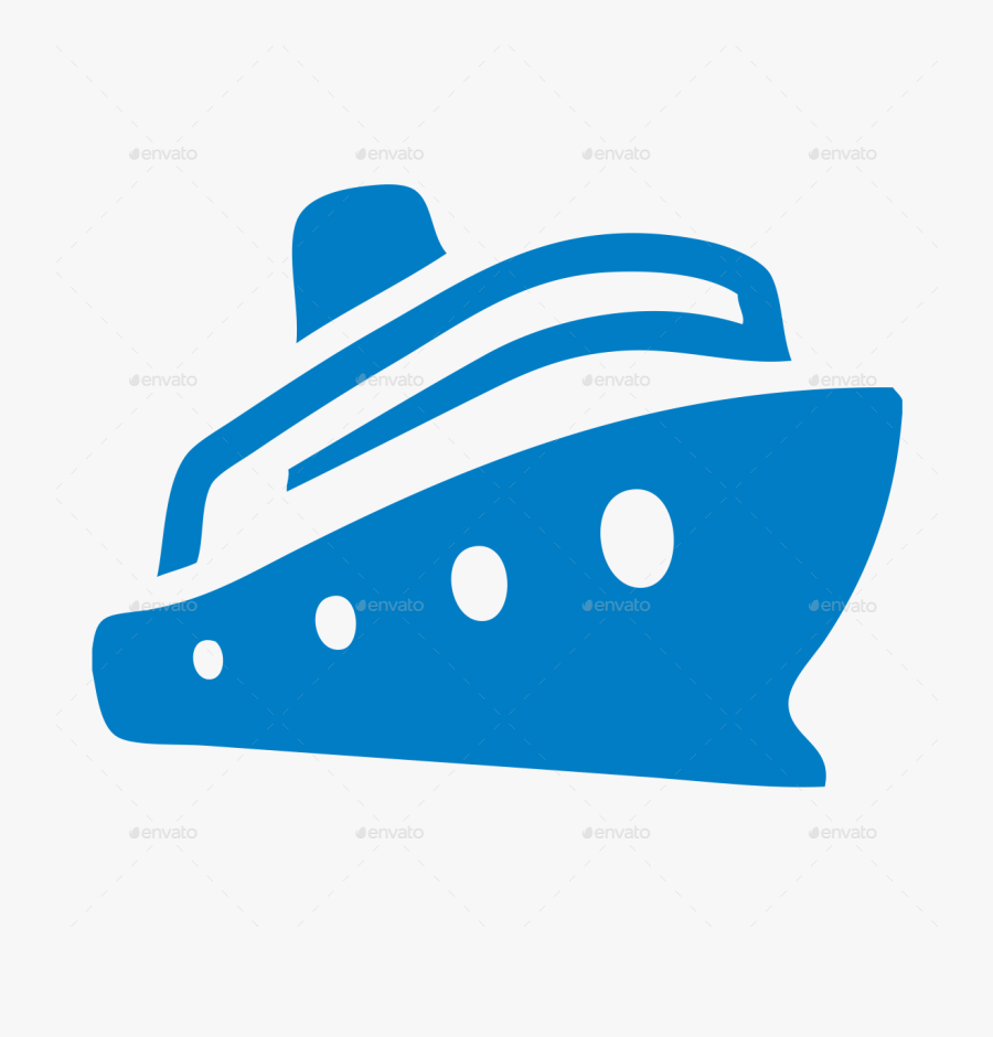Ship Icon Clipart Cruise Ship Computer Icons Clip Art - Cruise Ship Silhouette Png, Transparent Clipart