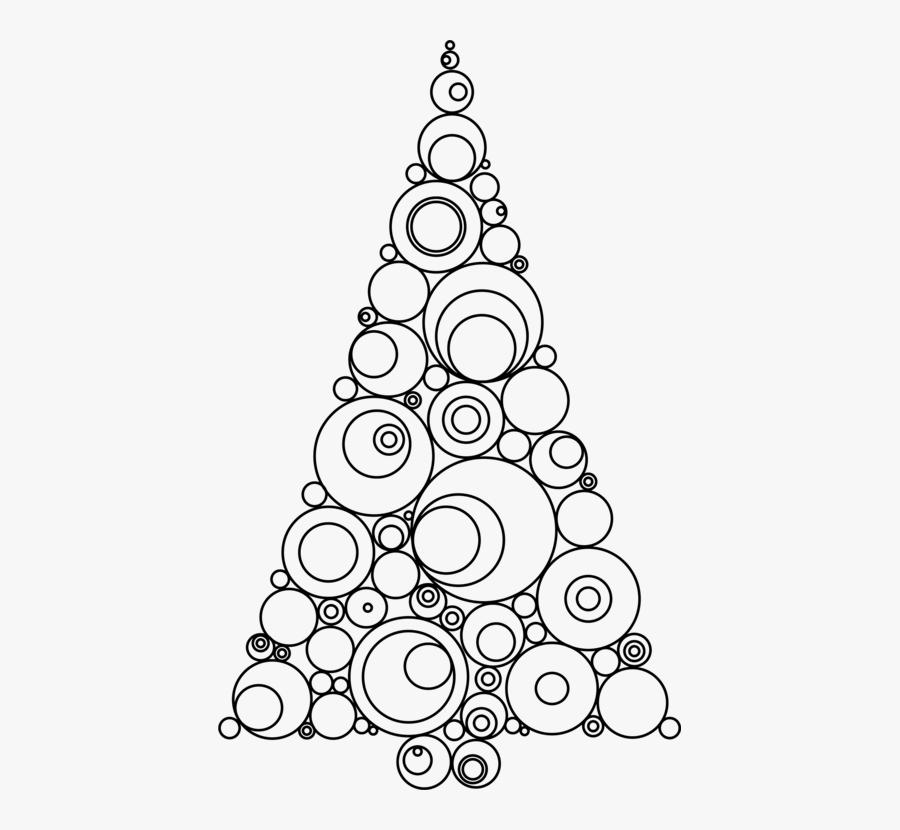 Christmas Ornament Christmas Tree Christmas Day Clip - Christmas Ornament Line Drawings, Transparent Clipart