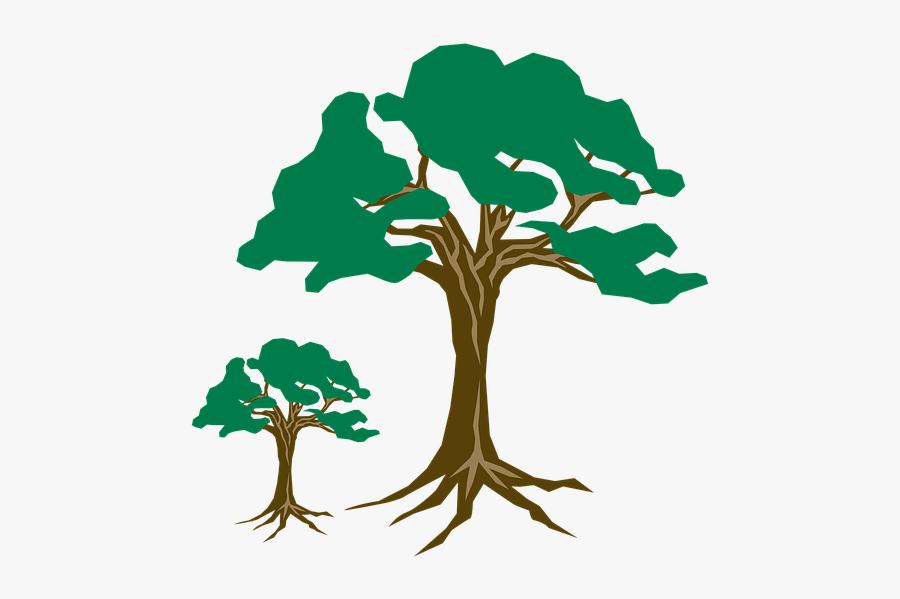 Clipart, Tree, Green, Nature, Wood, Branch, Season - Clip Art, Transparent Clipart