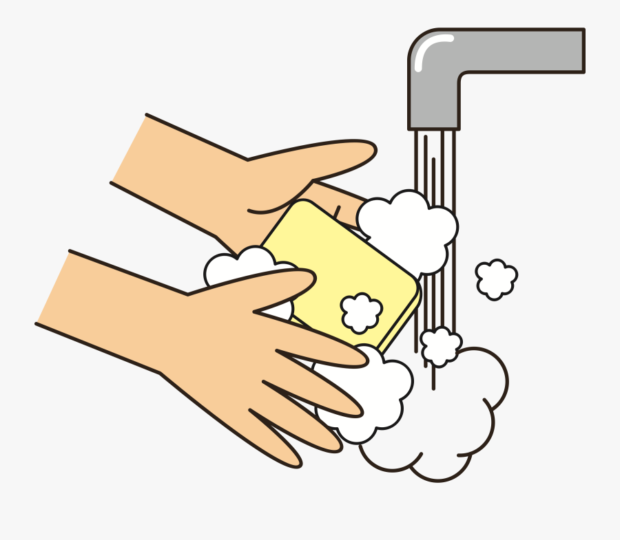28 Collection Of Hand Wash Soap Clipart - Wash Your Hands Clipart, Transparent Clipart
