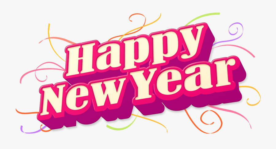 Happy New Year Png, Transparent Clipart