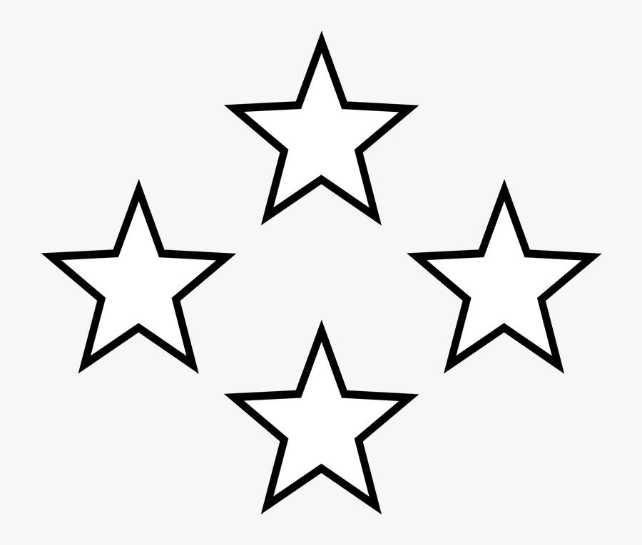 Svg Transparent Download Star Clipart Outline - Black And White Stars, Transparent Clipart