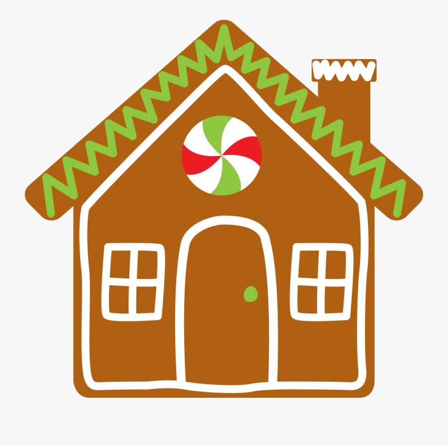 Transparent Gingerbread House Clipart, Transparent Clipart