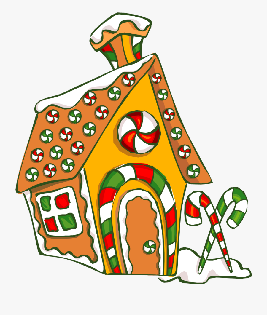 Build A Gingerbread House Quarryville Library Clipart - Gingerbread House Contest Library, Transparent Clipart